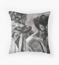 Drawing Marathon Throw Pillow
