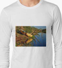 """Creekside Reflections"" Long Sleeve T-Shirt"