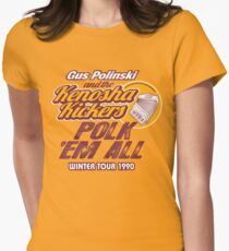 Gus Polinski Tour shirts Round Two! Women's Fitted T-Shirt