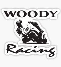 Woody Racing Sticker