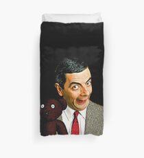 Mr. Bean und Teddy Art Bettbezug