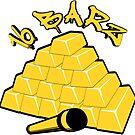 16 Barz Gold Bars Rap Design by EthosWear
