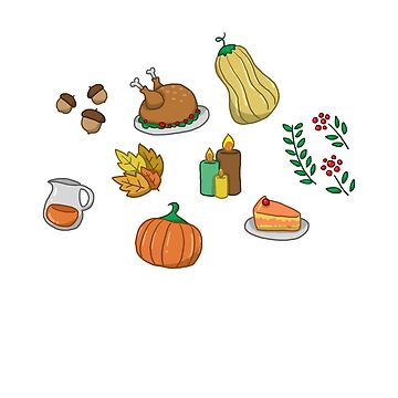 Thanksgiving Elements by WordvineMedia