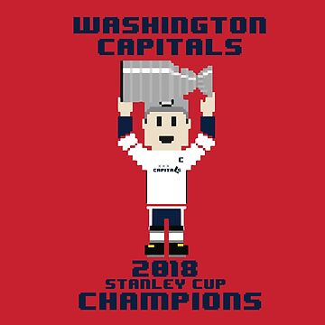 Washington Capitals - 2018 Stanley Cup Champions - 8 Bit Victory by mymainmandeebo