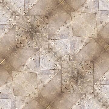 Rock Taupe Stone Surface | Pattern Art by CarlosV