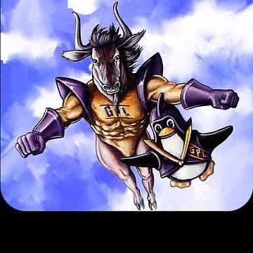 GNU & TUX Dynamic Duo by kopasas