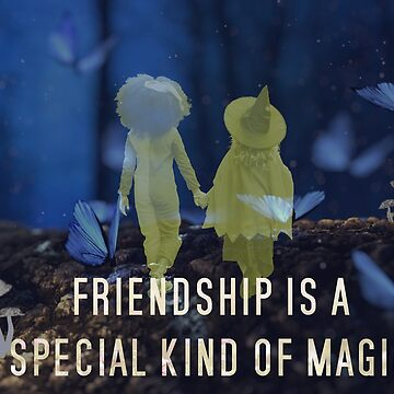 Friendship is a Special Kind of Magic by SquirrelAndBear