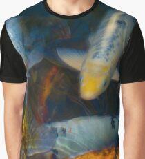 Koi Fish Family Graphic T-Shirt