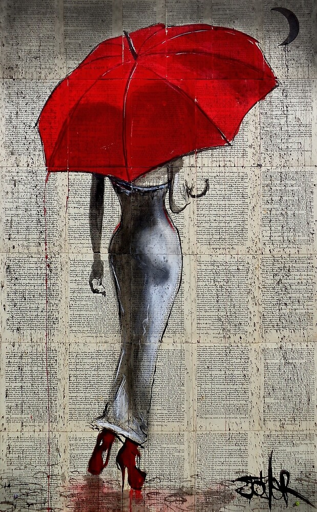 happy when it rains by Loui  Jover