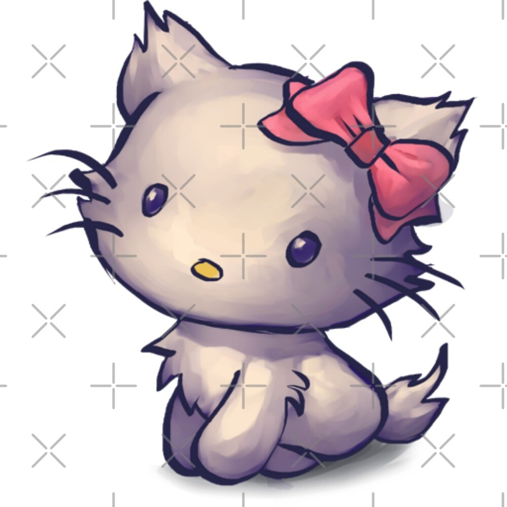 Hello Kitty Sketch by WolfandWillow