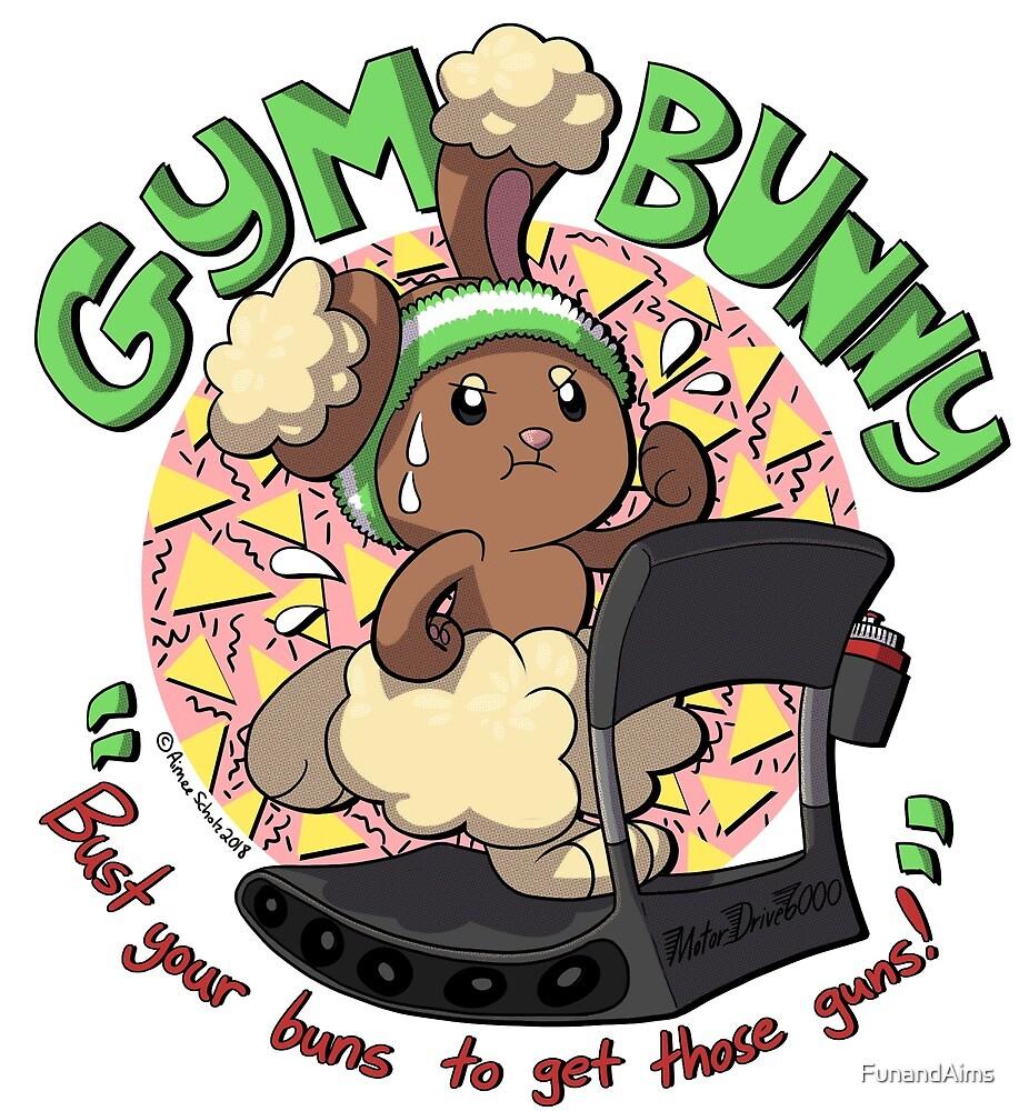 Pokemon Gym Bunny Shirt by FunandAims