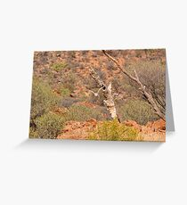 The hunt for survival begins Greeting Card