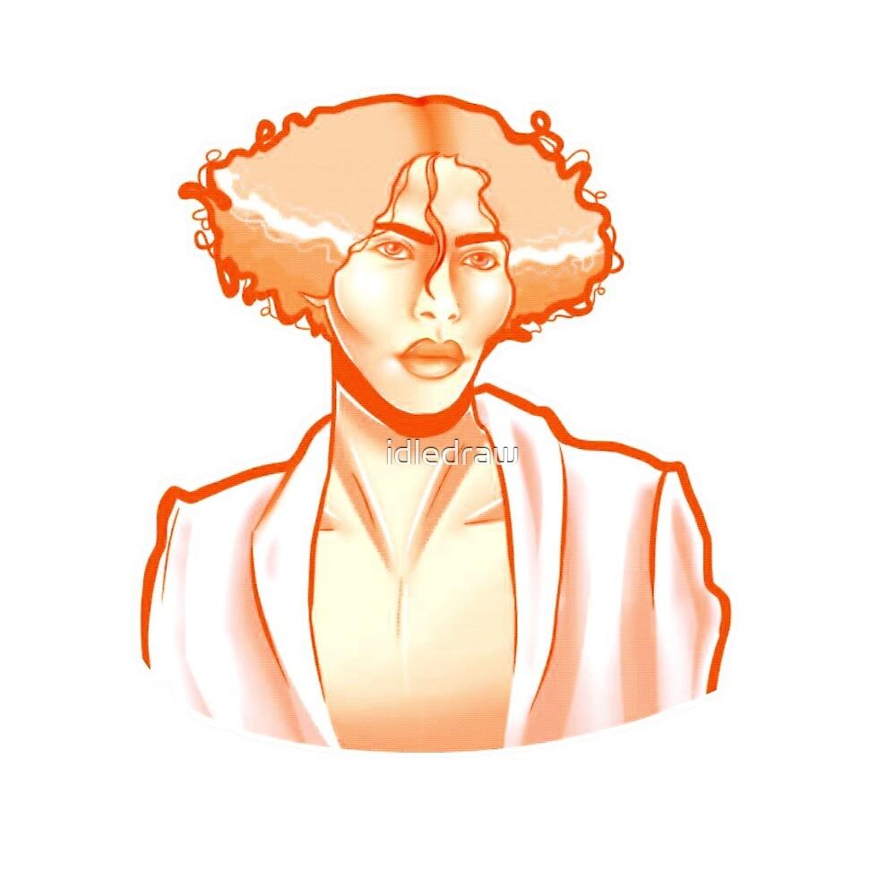 Sophie msmsmsm orange version by idledraw