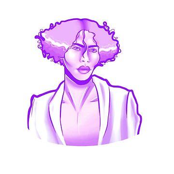 Sophie msmsmsm purple version by idledraw