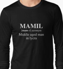 MAMIL, Middle aged man in lycra T-Shirt