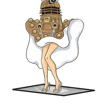 Dalek Seven Year Itch by Deva--rays