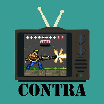 Playing Contra by bartwoww