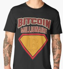 BITCOIN - Bitcoin Millionaire Men's Premium T-Shirt