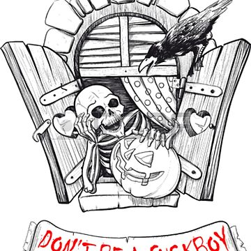 don't be a fuckboy - the skeleton says so. by uncomfortable