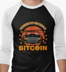 BITCOIN - I Bought My Car With A Bitcoin Men's Baseball ¾ T-Shirt