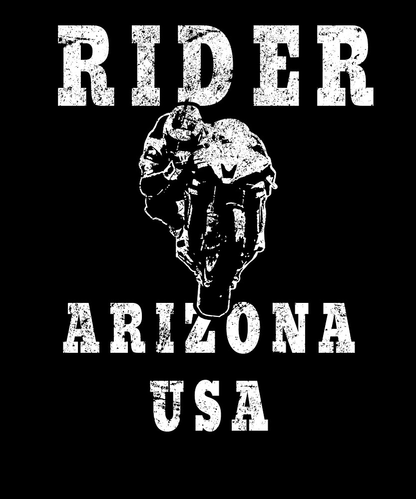 Rider Arizona USA - Used Look Motorcycle Arizona by DennBa