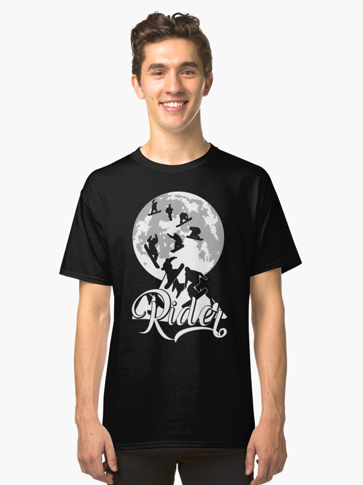 snow moon Classic T-Shirt Front