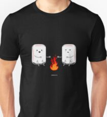 Marshmallow camping gift Unisex T-Shirt