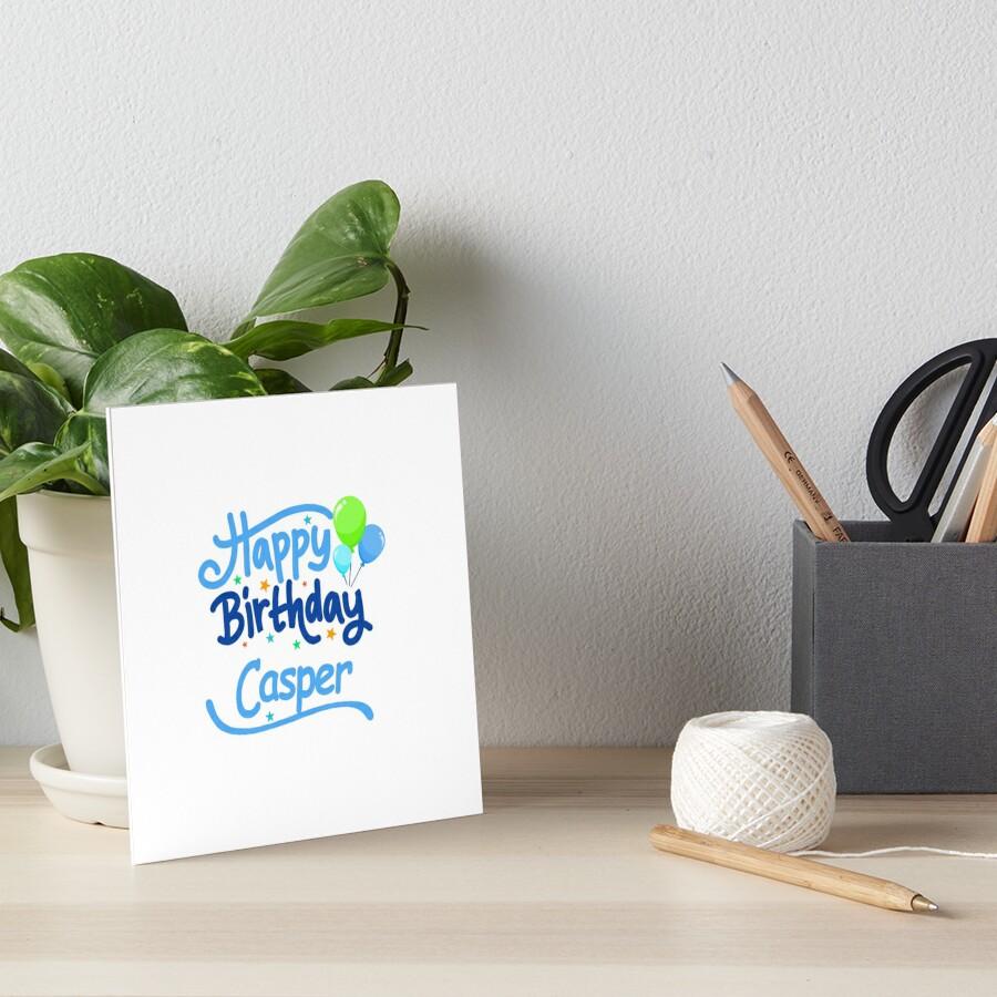 Happy Birthday Casper by PM-Names