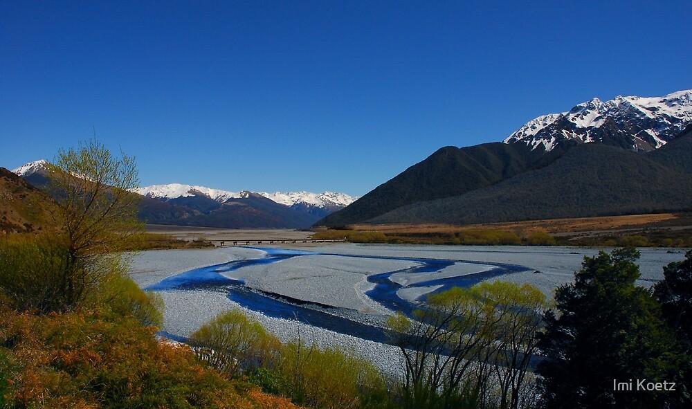 The Bridge.....Arthur's Pass in Spring.....New Zealand by Imi Koetz