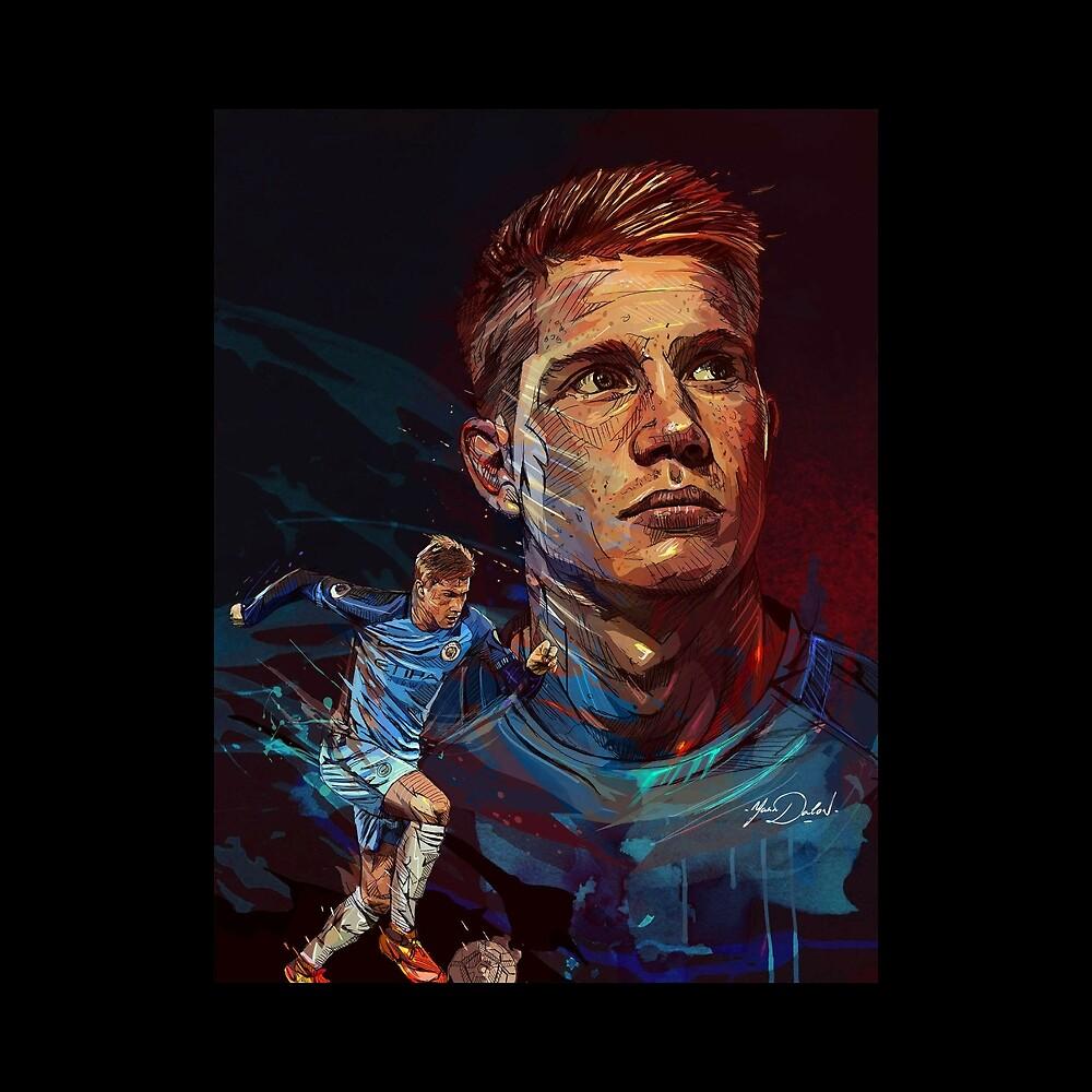 Manchester City Kevin De Bruyne by WinnieJ15