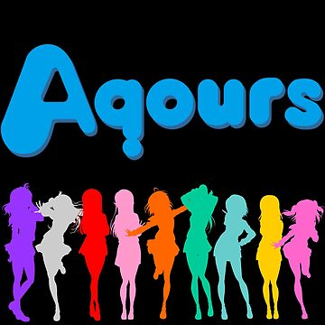 Aqours Ver. 2 by MegurineMariko