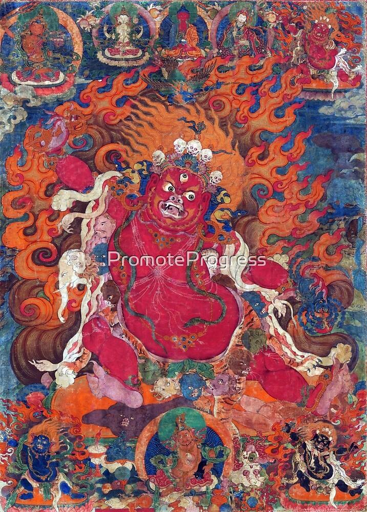 Guru Dragpo (Tibetan Buddhism) by PromoteProgress