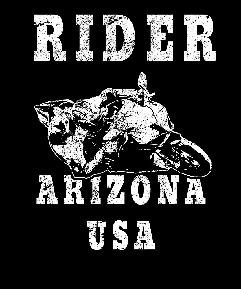 Rider Arizona USA - Used Look Motorcycle Arizona by DennBa