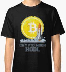 BITCOIN - Crypto Moon Hodl Classic T-Shirt
