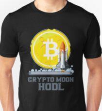 BITCOIN - Crypto Moon Hodl Unisex T-Shirt