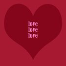 Love Love Love by hurmerinta