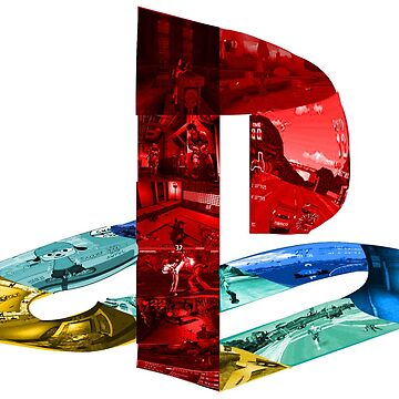 Playstation logo image collage  by Blaze-Designs