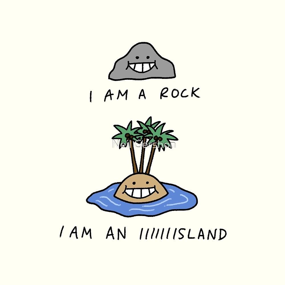 I Am A Rock by Neil Gershon