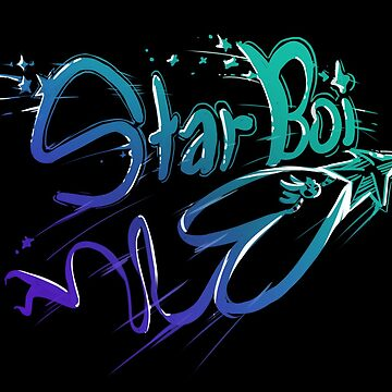 StarBoi - shoot for the moon by BlakBunni