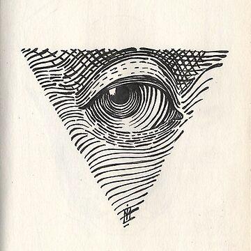 Eye of Providence by sojustfuckme