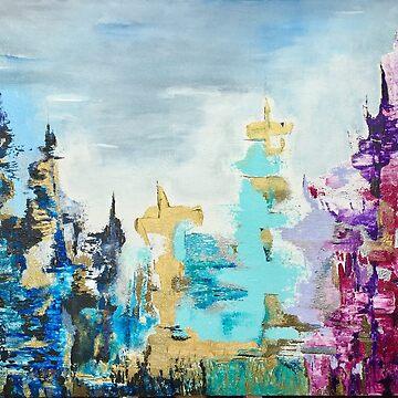 Metropolis  by SylwiaQart