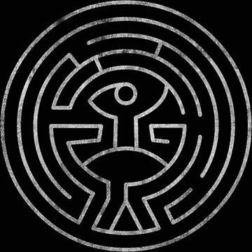 west world maze sci fi by okijan