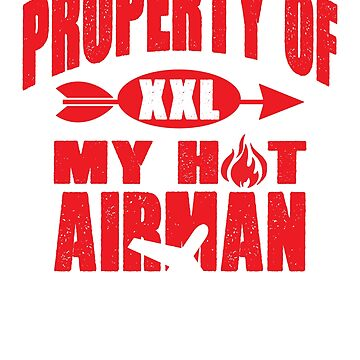 Property of my airman couples t-shirt by mamatgaye
