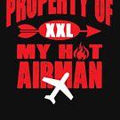 Property of my airman couples t-shirt by mamatgaye