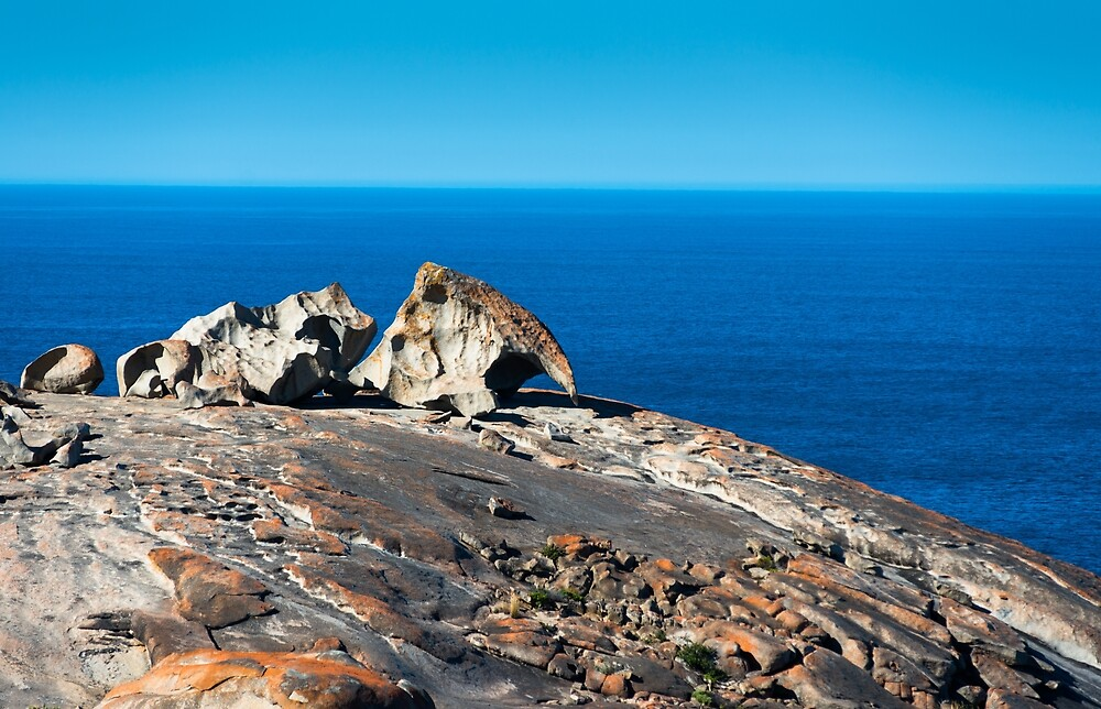 Remarkable Rocks, Flinders Chase National Park, Kangaroo Island, South Australia. by andremichel