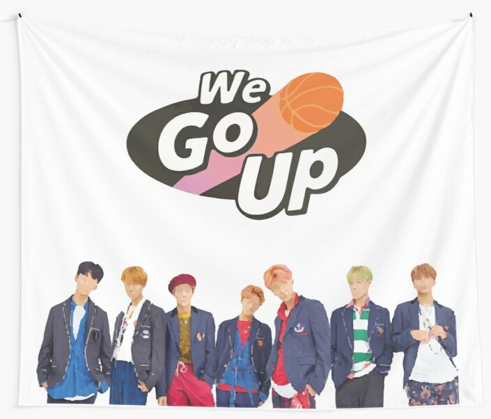 WE GO UP - LOGO by Duckiechan