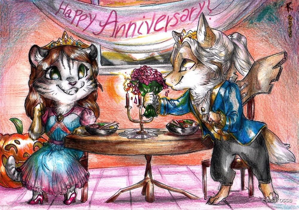 Chibi Halloween anniversary by Furiarossa