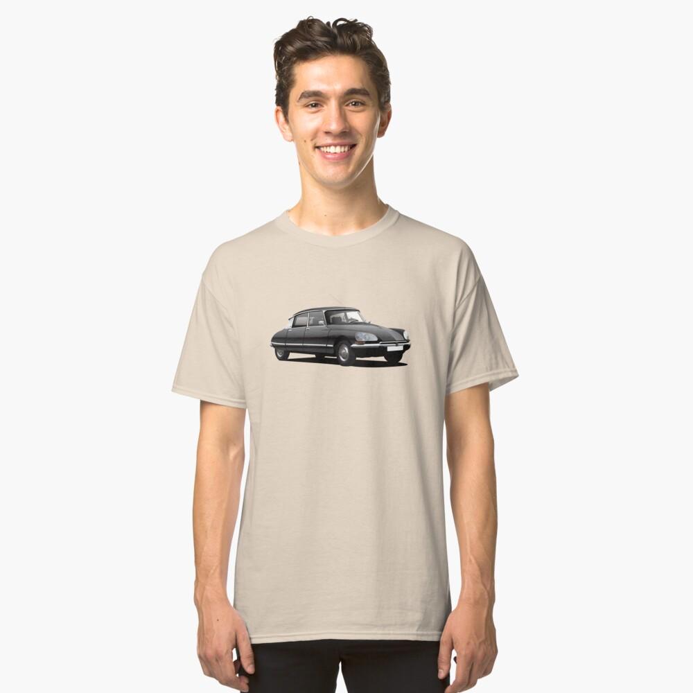 Citroen DS Abbildung, schwarz Classic T-Shirt