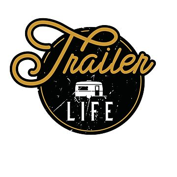 Vintage Trailer Logo by BlueRockDesigns