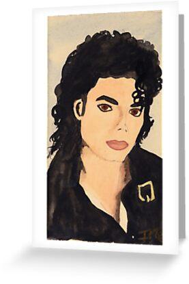 Portrait of Mickael Jackson by Zamen